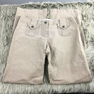 Sitwell Anthropologie Tan Trouser Pants Size 4